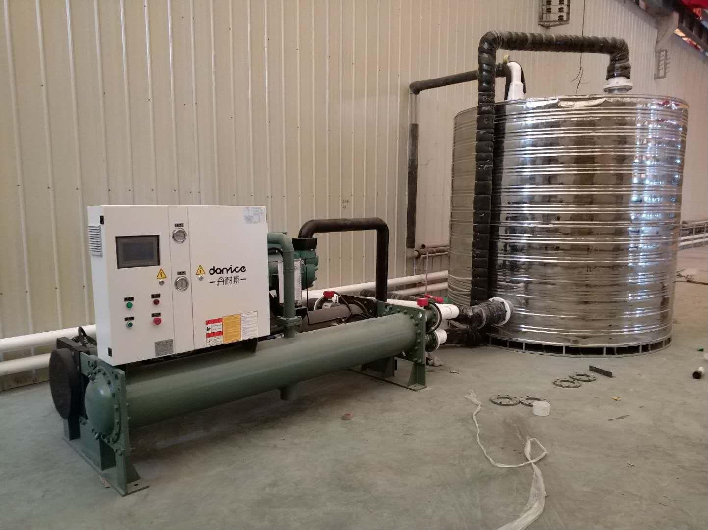 比泽尔压缩机100匹水冷螺杆冷水机